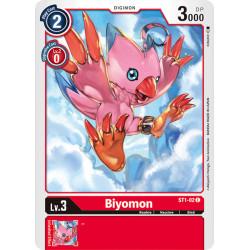 ST1-02 C Biyomon Digimon