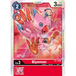 ST1-02 AA C Biyomon Digimon...