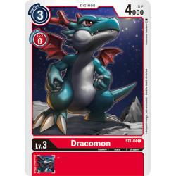 ST1-04 C Dracomon Digimon