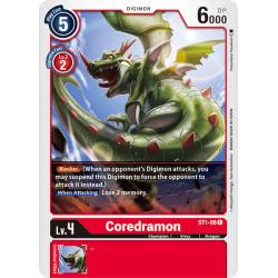 ST1-06 C Coredramon Digimon