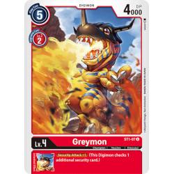 ST1-07 U Greymon Digimon
