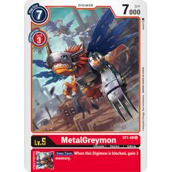 ST1-09 R MetalGreymon Digimon