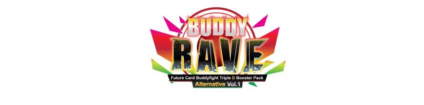 Achat Carte à l'unité D-BT01A : Buddy Rave | Buddyfight Hokatsu et Nice