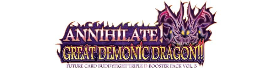 Purchase Card in the unity D-BT03 Annihilate! | Buddyfight Hokatsu and Nice