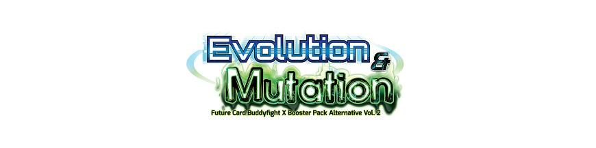 Achat Carte à l'unité X-BT02A: Evolution & Mutation | Buddyfight Hokatsu et Nice