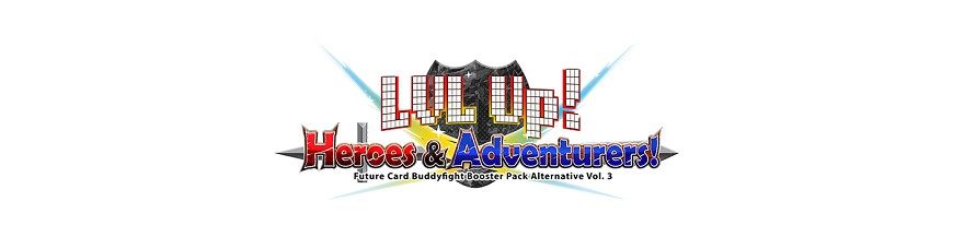 Purchase Card in the unity X-BT03A: LVL Up! Heroes & Adventurers! | Buddyfight Hokatsu and Nice