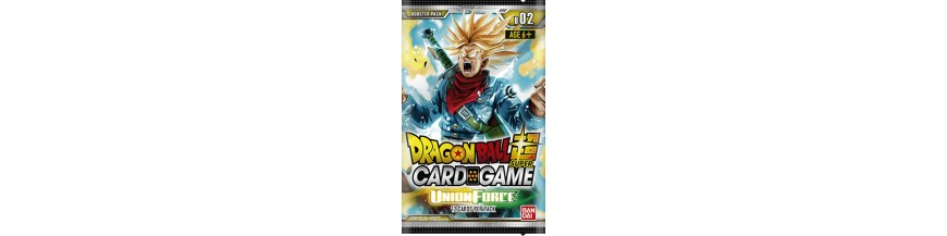 Purchase Card in the unity BT2: UNION FORCE | Dragon Ball Super Cartajouer and Nice
