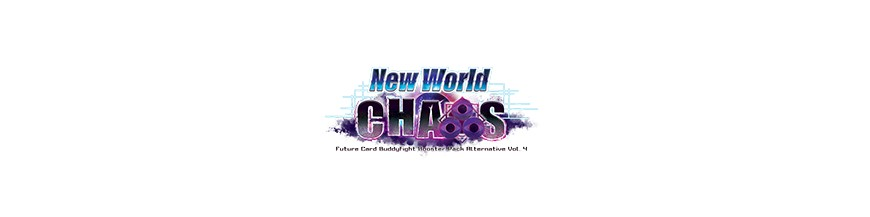 Purchase Card in the unity X-BT04A: New World Chaos | Buddyfight Cartajouer and Nice