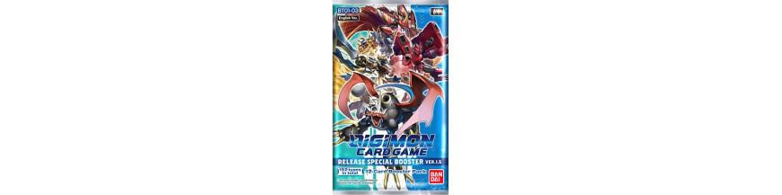 Achat Carte à l'unité BT01-03: RELEASE SPECIAL BOOSTER Ver.1.5   Digimon Card Game Cartajouer et Nice